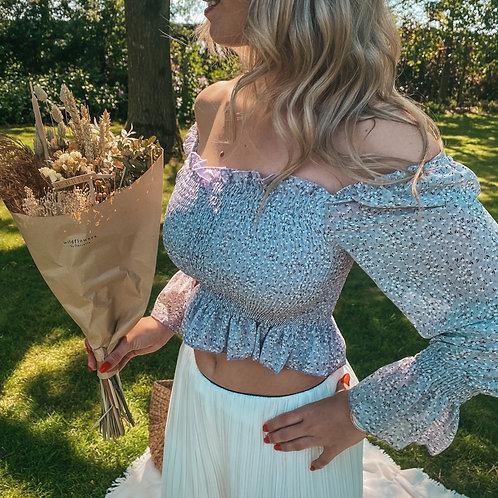 Lila crop blouse