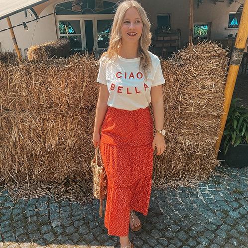 Picknick red skirt