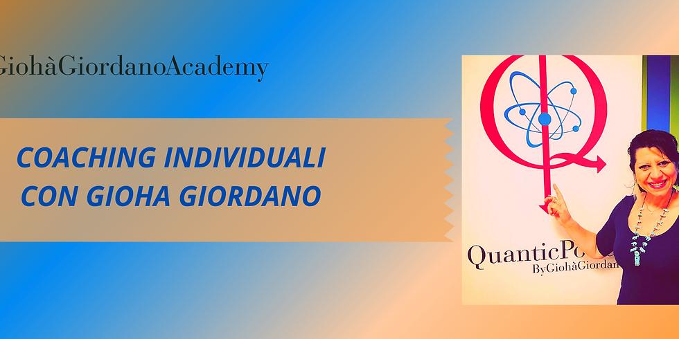 Sessioni individuali online con Giohà Giordano