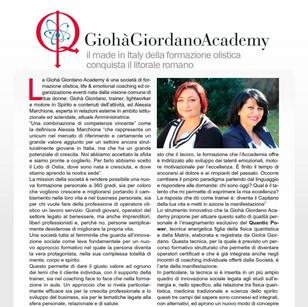 Academia Giohà Giordano: el Made in Italy de la formación holística conquista la costa romana