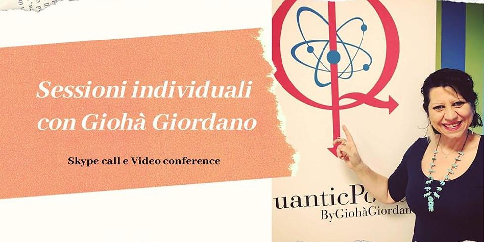 Sessioni online con Giohà Giordano