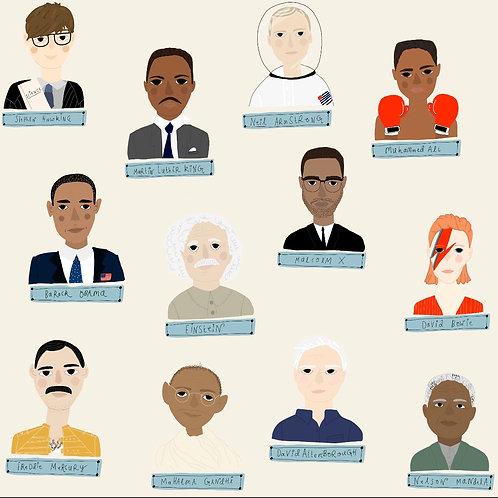 Men Who Changed The World - Older Children 6-10 years