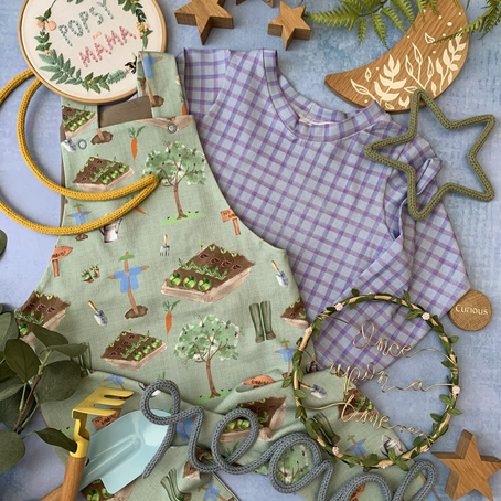 Popsy and Mama's new handmade spring baby and children's clothes collection.