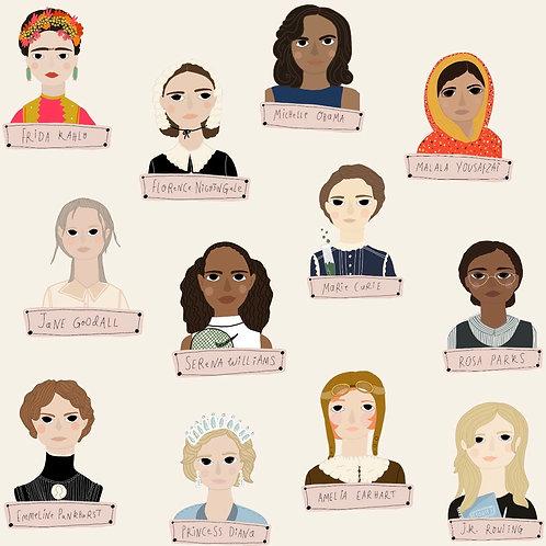 Women Who Changed The World - Older Children 6-10 years