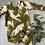 Thumbnail: Brown Spirit Animals Long Sleeve Pullon Romper 12-18(premade)