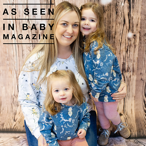 Mama Sweatshirt In Popsy & Mama Exclusive Fabrics