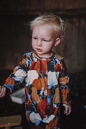 Handmade Babys Clothes Button Up Romper Frank.JPG