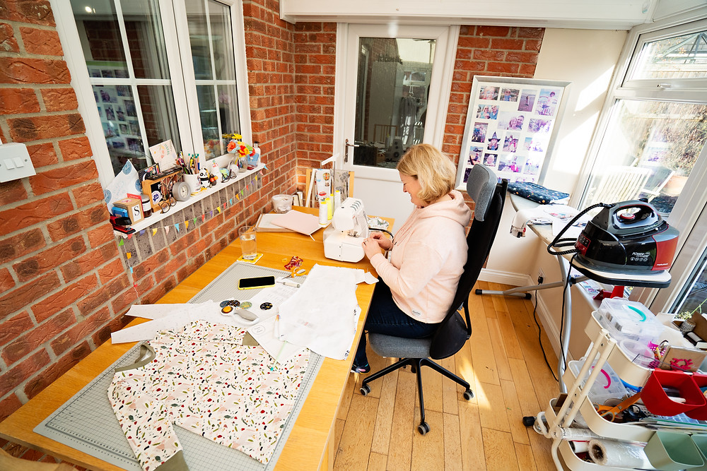 Popsy and Mama makes handmade children clothes in Berkshire