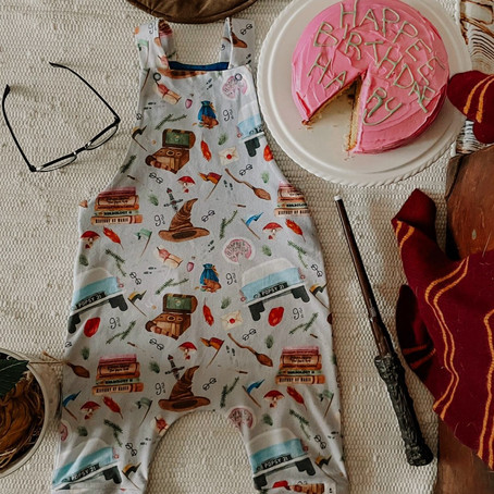 Popsy and Mama's handmade summer baby and children's clothes collection.
