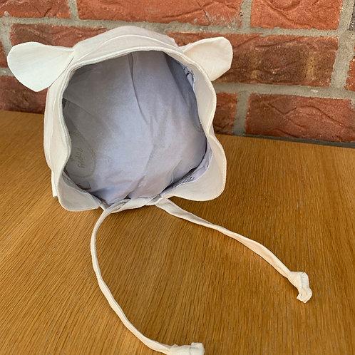 Bonnet with Ears (Newborn - 4 years)