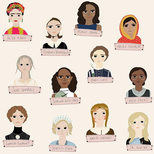 Women Who Changed The World - Skirts