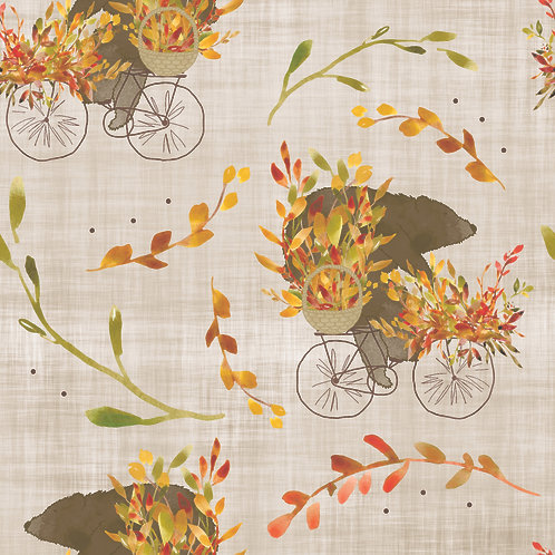 Autumn Cycling Bear - Rompers and Dungarees