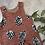 Thumbnail: Pink Pinecones Romper 9-12m (premade)