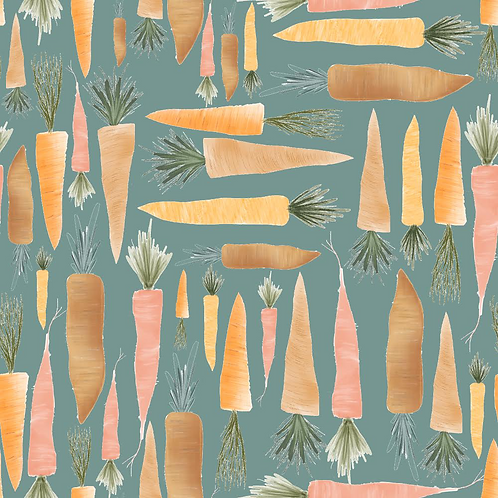 Carrots (Teal) - Rompers & Dungarees