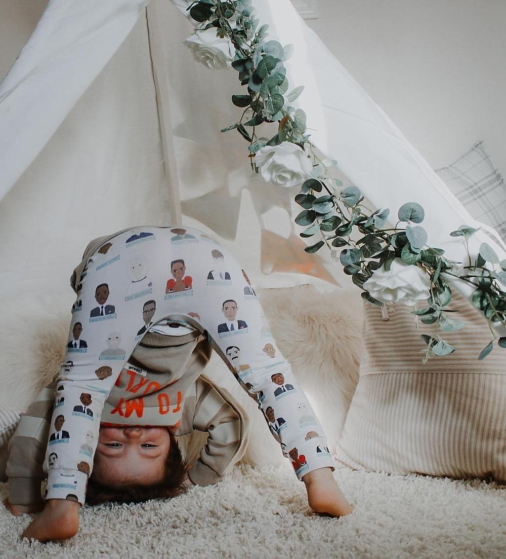 Handmade baby leggings UK