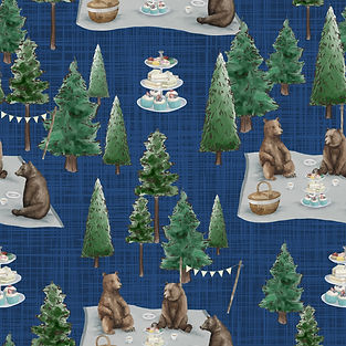 Teddy bears picnic navy.jpg