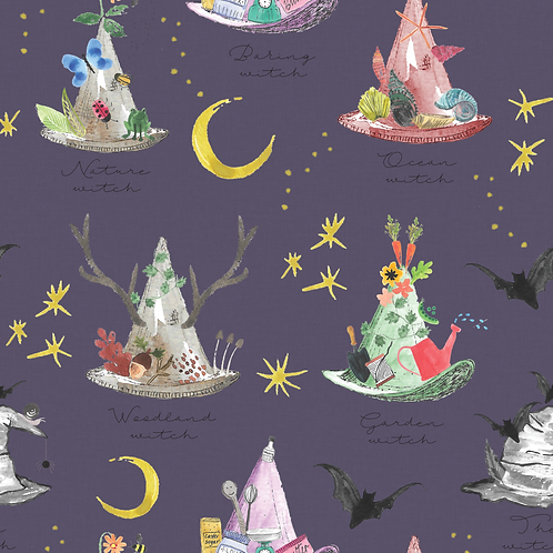 The Witches Hat - Blankets and Comforters
