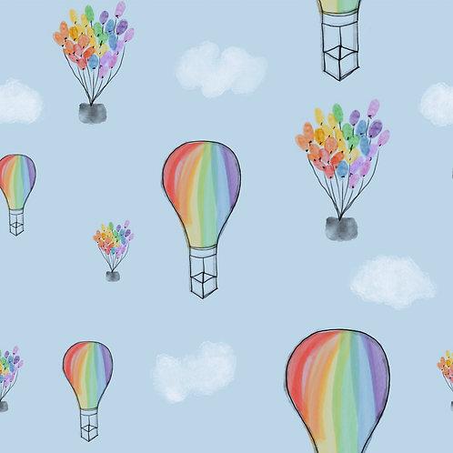 Rainbow Balloons - Blankets & Comforters