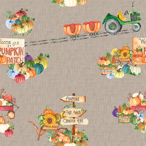 Pumpkin Patch - Blankets & Comforters