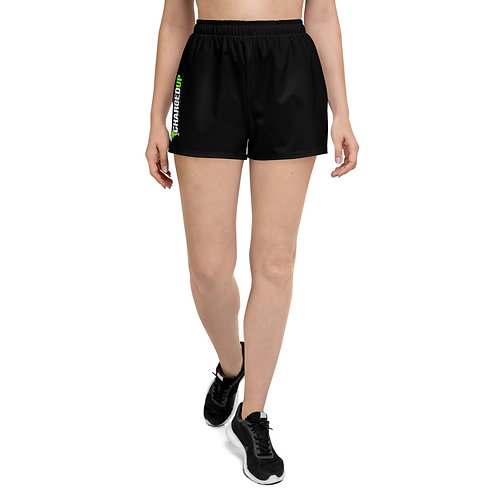 Charged Up Women's Athletic Short Shorts