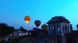 Hot Air Balloon Take-Off