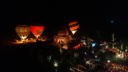Night Glow and Tethering