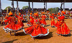 Folk Dances at Pushkar Mela