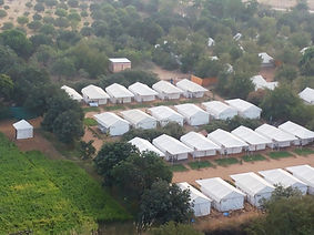 Deluxe and luxury Tents at Pushkar Mela Rajasthan