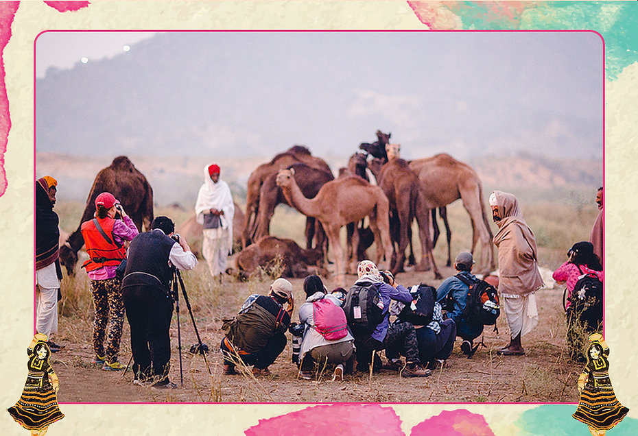 """Rajasthan Tourism and E Factor Entertainment are pleased to announce the first edition of the annual Pushkar Photography contest - """"Frame the Fair""""  The contest is open for amateurs & professionals alike. Participants are required to be physically present at the Pushkar Town between 8th to 10th November to create their submissions  Your chance to win cash prize of 5000 USD+ A DSLRCamera + CameraMerchandise + Feature in a coffee table book + Fly aboard a hot air balloon!!"""
