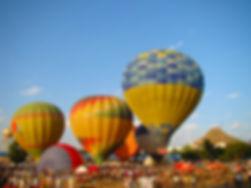Hot Air Balloons at Pushkar Mela
