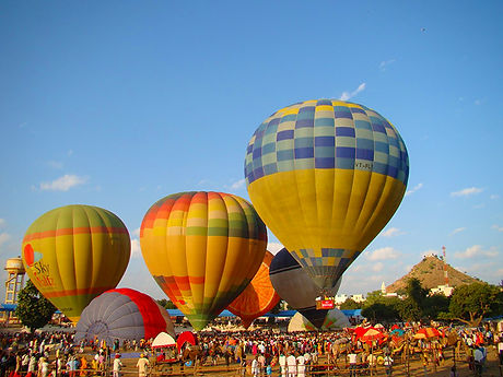 Hot Air Balloons at Pushkar Mela