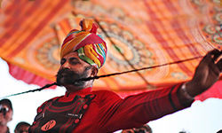 Moustache Competition at Pushkar Mela