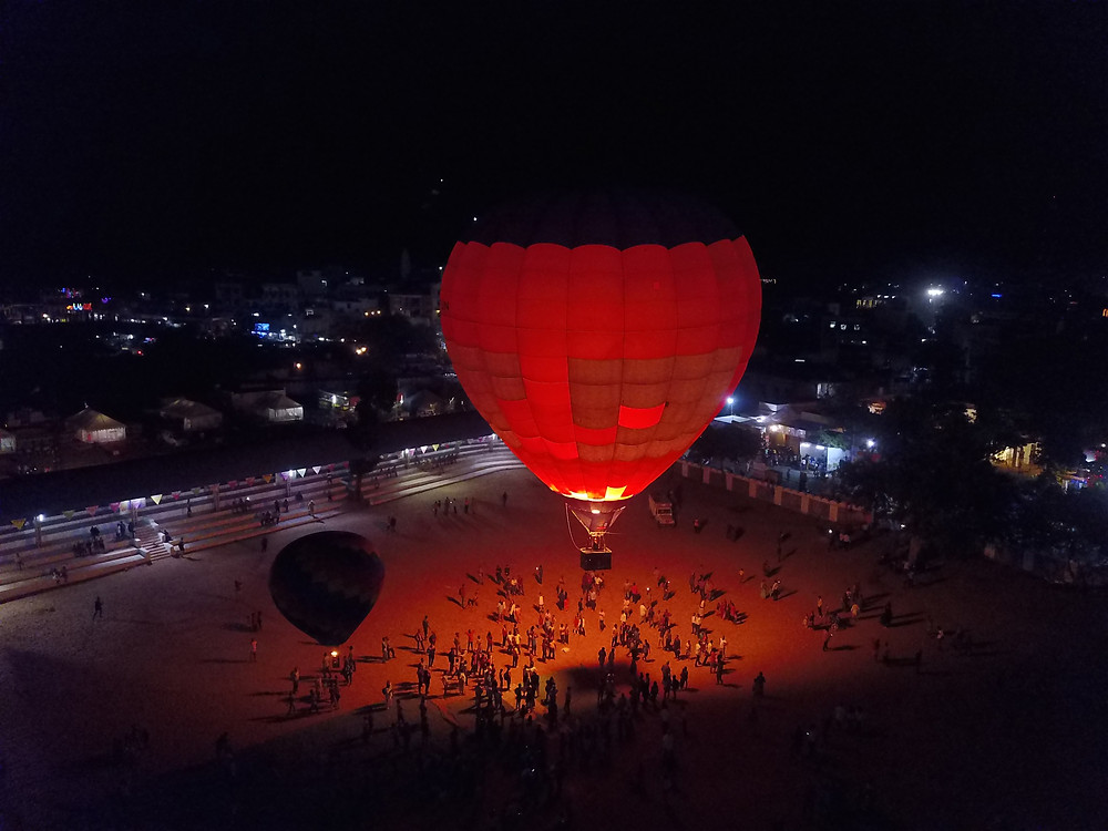 Hot Air Balloon Pushkar Mela