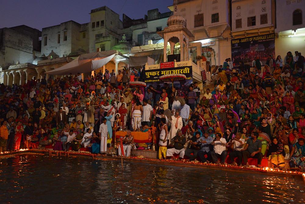 Pushkar Maha Aarti