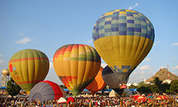 Hot Air Balloon Flights at Pushkar