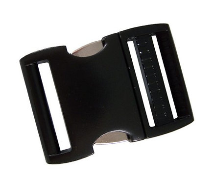 """Aluminum Side Release Buckle Black (1-1/2"""") Starting At:"""