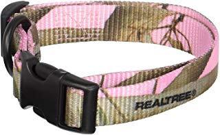 Adjustable Realtree Pink Camo Collar