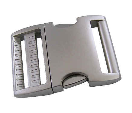 """Aluminum Side Release Buckle Satin (1-1/2"""") Starting At:"""