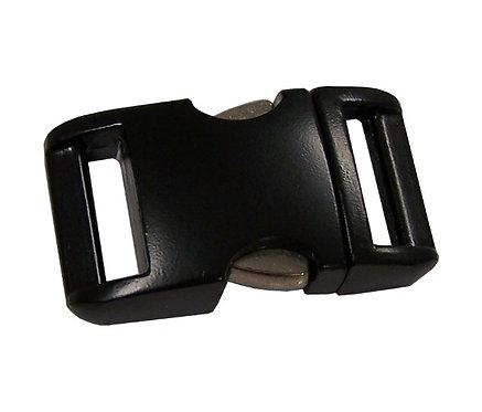 "Aluminum Side Release Buckle Black (5/8"") Starting At:"