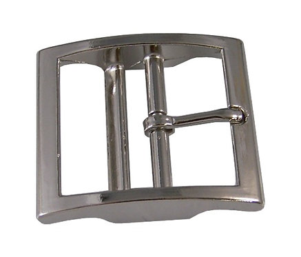 """Square Double Bar Buckle Nickel Plate (1-1/2"""") Starting At:"""