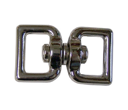 """Square Eye Double End Swivel Nickel Plate (3/4"""") Starting At:"""