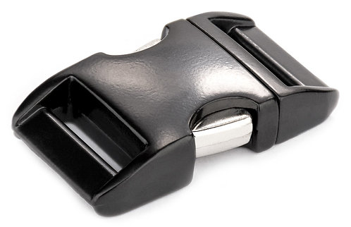 """Aluminum Side Release Buckle Black (1"""") Starting At:"""