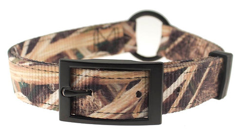 "Mossy Oak Shadow Grass Ring Collar (1"")"
