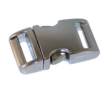 "Aluminum Side Release Buckle Nickel Plate (3/4"") Starting At:"