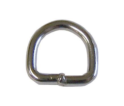 "Welded Steel D-Ring Nickel Plate (3/8"") Starting At:"