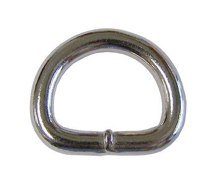 "Welded Steel D-Ring Nickel Plate (3/4"") Starting At:"