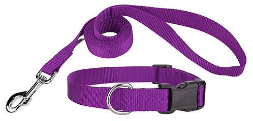 Adjustable Collar / 6' Leash Combo