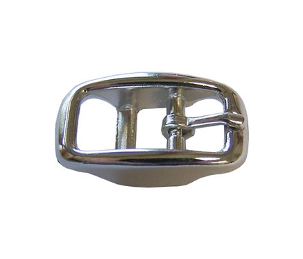 "Round Double Bar Buckle Nickel Plate (5/8"") Starting At:"