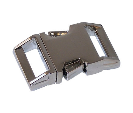 "Zinc Diecast Side Release Buckle Nickel (1"") Starting At:"