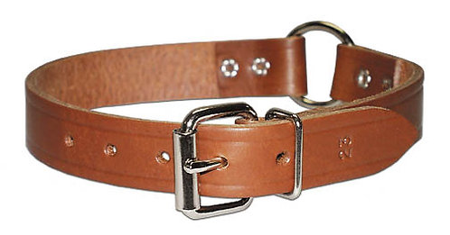 Ring Leather Collar